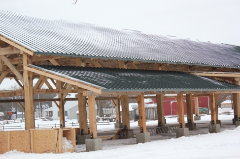 Community Pavilion Nears Completion