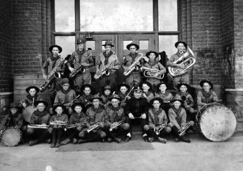 Vicksburg Boy Scouts Troop Band – 1920.
