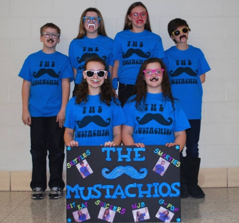 The Mustachios, from Schoolcraft Elementary, were the winners of the 2014 Battle of the Books.