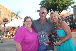 The Hide-a-Way received two awards from Tanya DeLong. They sold the most tickets, 735, and received the judges choice for best food.