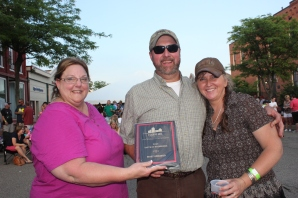 Stubby's received the Best of Taste award from Tanya DeLong.