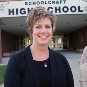 "Jeannette Marshall – Schoolcraft School Board My husband Dan and I have been married for 23 years and have lived in Schoolcraft for 20 years. We have two sons: Jacob, 20, who graduated from Schoolcraft and is now a junior at WMU, and Adam, 17, who is a junior at Schoolcraft High School. I am currently an office manager at a dental office in Portage. I attended Tift College and Georgia State University. I have served the last four and a half years on the Schoolcraft School Board. During that time, there have been many positive changes. We hired a new superintendent and new administrators in the early elementary/elementary, middle school, and high school. We have realigned our mission/vision statement and district goals. The addition of Data Wise, AP and STEAM classes have intentionally advanced the accountability and rigor in our curriculum. We've integrated key programs designed to empower students socially and educationally, which include ""Leader In Me"" at the elementary and ""Capturing Kids Hearts"" in the middle school and high school. With the recent procurement of a grant, we've been able to keep pace with neighboring districts by adding one-on-one technology in the high school this year."