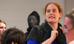 Melissa Sparks, director of the Vicksburg High School musical presentation LEGALLY BLONDE The Musical.