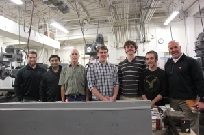 Team American Axle – Left to right: Unidentified, Saket Thote, (Steve Mitchell, Troy Verburg, Joe Kline, Brady Copeland, Brian McDaniel.