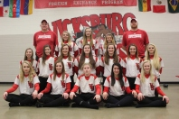 JV Softball Front row left to right: Zoe Ward, Destiny Spencer, Lauren Goertler, Bryce Britten, and Alyssa Kirby. Middle row left to right: Kyllie Zeller, Samatha Carr, Madeline Warner, Morgan Glenn, Abby Fitzsimmons, Alisha Schippers, and Keagan Kelly. Back row left to right: Coach Brian Kelley, Emma Johnson, Cydney Foster, Brenna the manager, and Coach Tim Kirby.