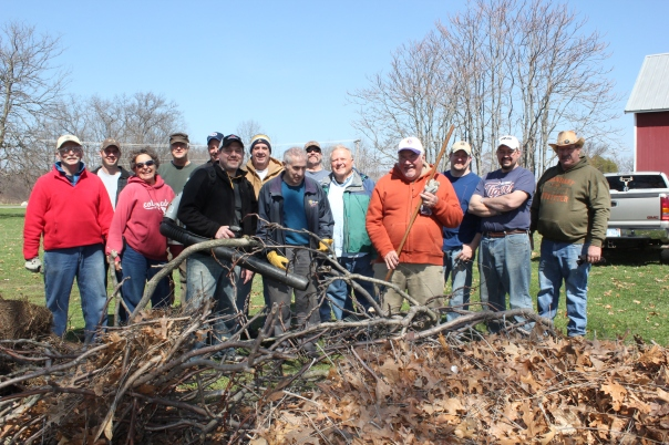 lions club clean up all the gang