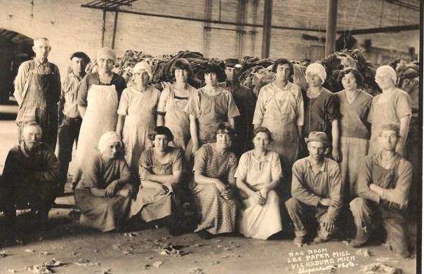 Rag Room Lee Paper mill