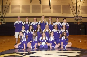 Girls Soccer: Front row left to right: Tori Collison, Peyton Burson, Samantha Spears, Kylee Leitz and Stephanie Melendez. Middle row left to right: Paige Dailey, Jessica Wile, Chrissy Winkel, Olivia Caffrey, Kelley Imanse and Breanna Varker. Back row left to right: Coach Ladd, Taylor Faulk, Wynn Stitt, Jaycee Suseland, Maddie Kedrowicz, Courtney Brandt and Yuyuting Li.