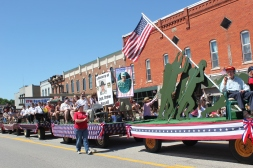 Schoolcraft will honor VFW post 5189, American Legion post 475, and Marcellus VFW post 4054, as grand marshals of the 2015 parade.
