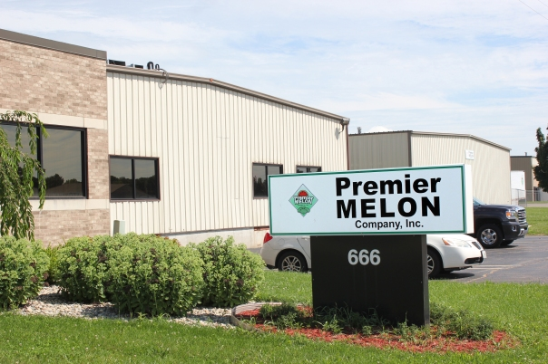 Premier Melon and Midlink Logistics are in this building on Angell Street in Schoolcraft.