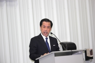 Junya Suzuki, president of Nissha Printing Co., Ltd.