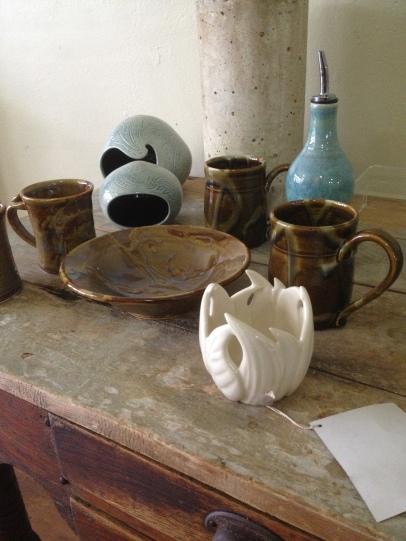 pottery by Lisa Beams