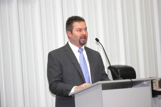 Randy Bongard, Eimo East plant manager.