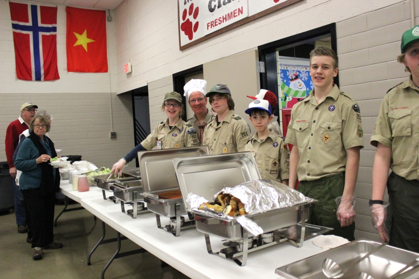 scouts dinner2
