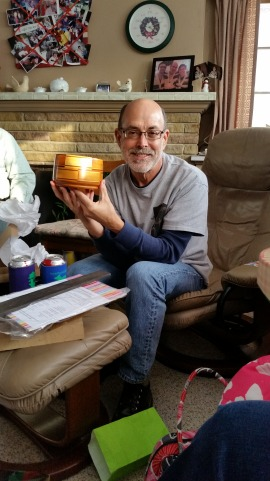 John Thomas with Appell Gibson Bowl