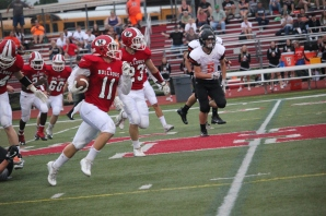 Blake Rankin goes in for the TD.