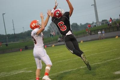 Adam Grabowski on his touchdown run.