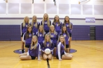 Varsity Volleyball Front row left to right: Jessica Budlong, Halie Rhoda, Madison Ballett. Middle row left to right: Sophie Woodhams, Alisa Ertman, Abby Pincumbe, Chloe Outman. Back row left to right: Olivia Ingle, Andelyn Simkins, Madie Hybels, Kelsey Feddema, Brooke Crissman.