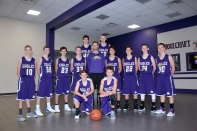 Boys Freshman Basketball Kneeling:  Dawson Shearer, Spencer Blankenship. Standing, left to right: Jared Jager, Carter Griffioen, Terry Smith, Logan Davis, Coach Derrick Small, Stephen Schultz, Karson Leighton, Jacob Steeby, Peyton Fisher. Back row:  Mitch Simonds, Donnie Cochran. Missing from the picture: Dawson Shearer, Spencer Blankenship.