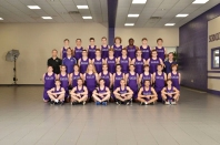 Boys Track Front row left to right: Caleb Niewiadomski, Spencer Fox, Taylor Meyer, Tom Wiessner, Devin Matheny, Drake Matheny. Second row left to right: Sam Reisner, Trenton Cook, Keegan Campbell, Riley Smith, Nick Dage, Karson Leighton, Colin Kerwin, Jakob Sagers, Bowen Steen, Phillip Stafford. Third row left to right: Coach Kato, Coach Willoughby, Levi Balcom, Logan Davis, Ben Sampley, Garret Davis, Aaron Lenning, Kristian VanGorder, Coach MacFarlane. Back row left to right: Brady Gillaspie, Mason Hart, Austin Webb, Ryan Faulk, Tim VanOrman, Jakob Huysken, River Fox, Ryan Hufford. Missing from the photo: Ian Cail, Ricky Clark, Nick Hayward, and Thomas Meadows.