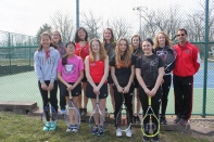 JV Tennis JV Tennis roster: Jenna Beach, Jessica Beach, Zoe Blough, Brandi Bowdish, Montana Rose, Kaylie Ruch, Mikayla Sands, Sierra Stevens, Kaitlynn Szydlowski, Therese Thamann.