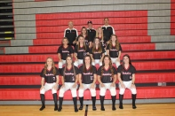 Varsity Softball Front row left to right: Carlie Kudary, Sadie Martin, Raquel Rice, Grace Sock, Shaidan Knapp. Second row left to right: Rylie Richter, Camille Wadley, Tailynn Knapp, Kali Yant. Third row left to right: Avery Slancik, Lauren Goertler. Back row left to right: Coach Knapp, Coach Gephart, Coach Slancik.