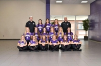 Varsity Softball Front row left to right: Brenna Walther, Madi Ballett, Paige Reid, Kennedy Leighton, Megan West, Mikayla Meade. Second row left to right: Lydia Goble, Katie Parker, Kenzie Crissman, Adrienne Rosey, Nicole Abel, Gabi Saxman. Back row left to right: Coach Goble, Dani Warnaar, Morgan Warnaar, Brooke Crissman, Coach Porter. Missing from the photo: Coach Peters.