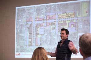 Jorden Parker explains the Reroute options presented via the illustration behind him.