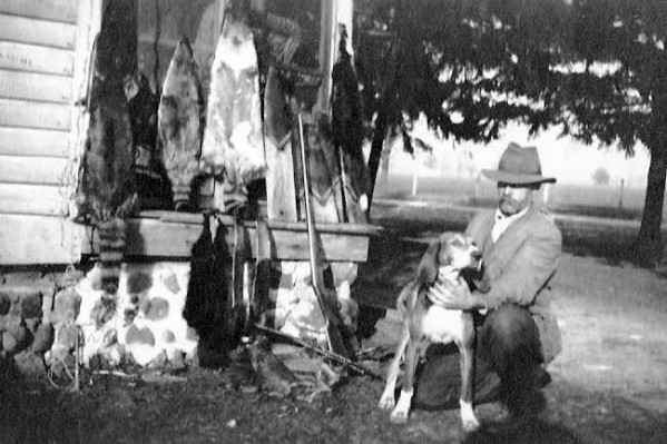 Dogs as hunting companions have a long history in Vicksburg.