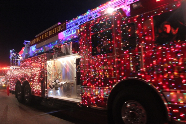 Plenty of fire trucks from around the area will be in Vicksburg for the nighttime parade, vying for the prize money that is being offered for the best decorated firetruck.