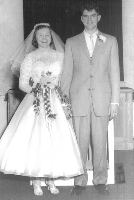 Barbara and Billy Miller in 1957.