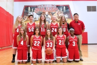 Freshman Basketball Kneeling, left to right: Amelia Ruger, Avalee Goodman, Taylor Bays, Haley Town, Nevaeh Randle. Standing, left to right: Karmen Combs, Hunter Gordon, Paige Abnet, Danielle Diekman, Sarah Hewitt, Coach Andrew Diep. Not pictured: Mattie Price.