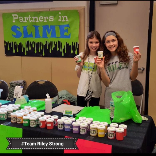 Partners in Slime at VHS wrestling tourn
