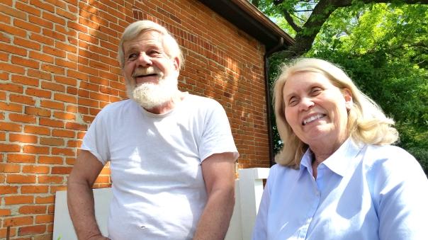 Diane w Jim Harris