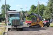 Road construction and resurfacing has changed the face of major and minor Vicksburg streets.