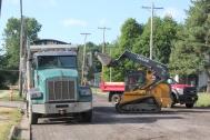 Road construction and resurfacing has changed the face of major and minor Vicksburg streets.