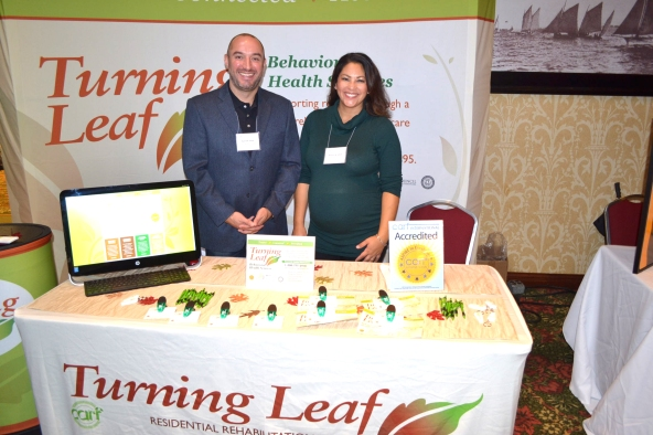 Sami and Destiny Al Jallad, partners in Turning Leaf, along with his brother Jamil and their parents who founded the family business.