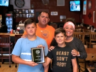 Jaspare's Pizza won 'best of class' for food in the Taste of Vicksburg event.