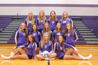 JV Volleyball Seated, from left: Lilli Curtis, Hannah Kalacava, Hannah Grachowski. Middle row, from left: Hannah Thompson, Sophie Ridge, Taylor Abfall, Jordan Watts, Mikayla Slavin. Back row, from left: Maddie Ingle, Isabel DeVisser, Danielle Blyly, Megan Shaink.