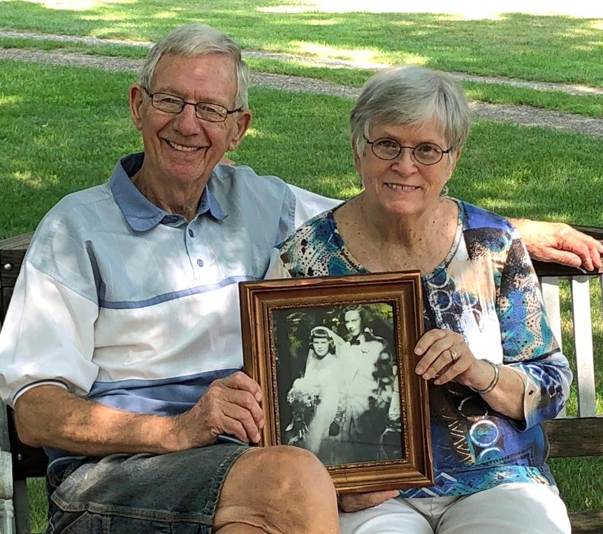 Mom and Dad Evensen
