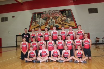 Boys Cross Country Front row, from left: Dylan Briggs, Nicholas Akins, Mitchell Kleyn, Ethan Cox, Ben Hambright. Middle row, from left: Noah Haines, Joseph Loriso, Kyle Campbell, Maddox Porter, Ben Welch, Cole Romig, Keagan Ellsworth, Justin Reed. Back row, from left: Jackson Hambright, Levi Thomas, Connor Richardson, Hunter Bierema, AJ Ledford, Kyle Kelly, Jacob Malocha.