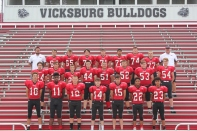 Freshman Football Front row, from left: Brendan Owen, Ben Pitts, Evan Anderson, Branden Braysher, Logan Jones, Dairrion Phillips, Keannen Miller. Second row, from left: Jim Cutshaw, Blake Ford, Timmy Roberts, Zach Thomas, Jakub Searles, Noah Hahn, Matt Sackrider, Caleb Pryor. Back row, from left: Assistant Coach Kyle Owen, Gunnar Lord, Mason Salisbury, Collin Groves, Eric Bugg, Rodrigo Castro, Collin Klinger, Skylar Rolfe, Head Coach Sean Mulhearn.