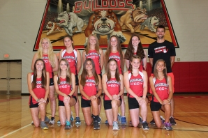 Girls Cross Country Front row, from left: Sam Richardson, Riley-Ann Bierema, Avalee Goodman, Grace Romig, Hannah Laughery, Savina Centofanti. Back row, from left: Coach Lucas Wolthuis, Mia Mulhearn, Lennon vanLunenburg, Hannah Fenwick, Angel Currie, Sawyer Barton.