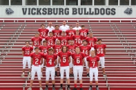 JV Football Front row, from left: Toby Stock, Brendan Monroe, Breckin Burdette, Landen Balkema, Brannigan Jenkins. Second row, from left: Zane Lehmkuhl, Linkoln Oswalt, Kyler Hobson, Elijah Bombich, Daniel Howard, Ben Hackman. Third row, from left: Stephen Phelps, Gunnar Niewiadomski, Sean Kelly, Brady Nason, Levi Sehy. Back row, from left: Ben Earl, Stephen McCowen, Zack Taylor, Mason Stannard. Not pictured: Logan Sprinkle.