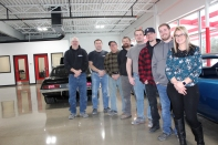 Staff photo, left to right: Joe VanNus, Randy Veld, Dan Herder, Bob Miller, Jared Roden, Josh Prihoda, Paul VanNus, Tori VanNus. Not Pictured: Jeff Thomas.