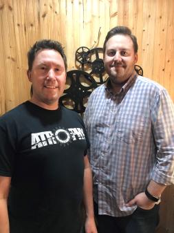 Troy Smith and Jason Slingerland partnered to produce the movie Atrophy.