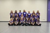 Varsity Softball Front row, left to right: Brenna Walther, Mikayla Slavin, Mikayla Meade, Allie Goldschmeding, Sophie Ridge, Olivia Pavlak. Middle row: Jordan Watts, Kayla Onken, Megan Shaink, Katie Parker, Lexi Kirkendall, Faith Westfall. Back row: Kelby Goldschmeding, Danielle Blyly, Head Coach Shane Barry, Assistant Coach Becca Shemberger, Assistant Coach Hunter Hart, Maddy Ingle, Adrienne Rosey.