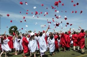 Vicksburg 2019 graduates celebrate commencement.