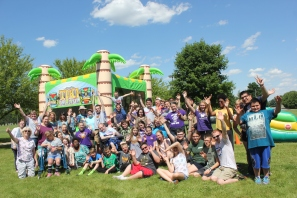 Schoolcraft's Common Bond participants let out a cheer for the last days of school when they get to have a party each year.