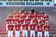 JV Football from left, first row: Jim Cutshaw, Chase Andres, David Lux, Kyle Buddemeier, Branden Braysher, Bairrion Phillips.Second row: Evan Anderson, Logan Jones, Keannen Miller, Grant Anderson, Blake Ford, Carter Mann. Third row: Jakub Searles, Noah Hahn, Matt Sackrider, Zack Thomas, Madison Salisbury, Rodrigo Castro, Skylar Rolfe. Fourth row: Gunnar Lord, Eric Bugg, Zack Taylor, Collin Groves, Quay McClenney, Brennan Buentello. Back row: Assistant Coach Sawyer Duncan, Tim Kirby. Not pictured: Tim Roberts, Assistant Coach Kyle Owen.